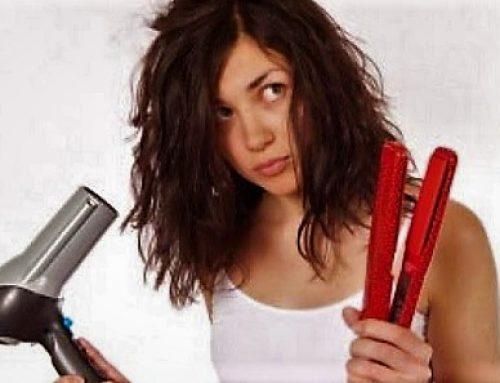 Какво означава суха и третирана коса?